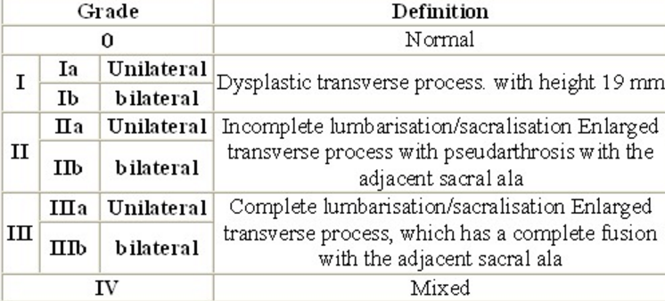 Learning Radiology Transitional Lumbosacral Vertebra